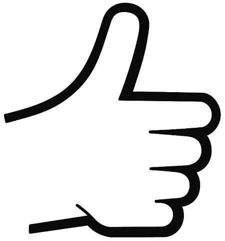 good thumbs up