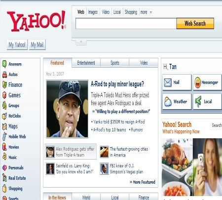 yahoo screenshot 2