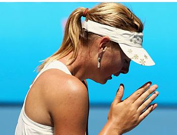 maria sharapova ausralian open 2008