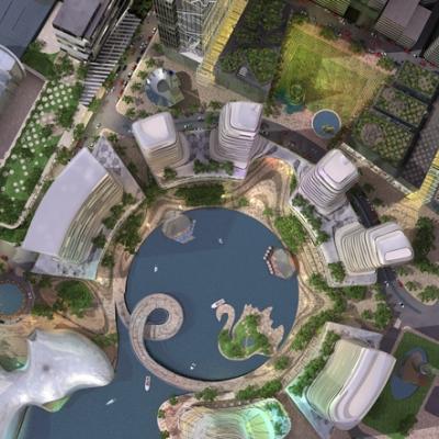 perth waterfront design