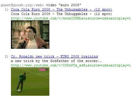 goosh google video search