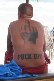 funny offensive tatoo