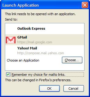 gmail firefox 3 mailto handler