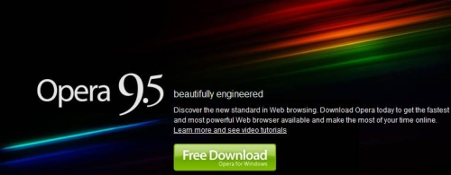 opera 9.5 internet browser