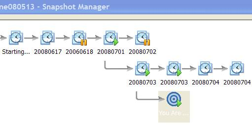 vmware workstation snapshot