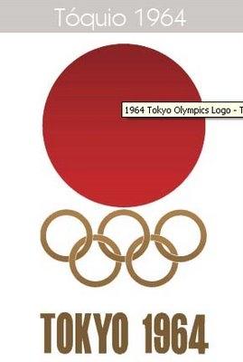 tokyo japan olympics logo 1964