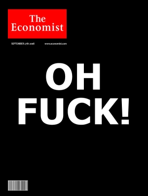 the economist september 2008 magazine cover