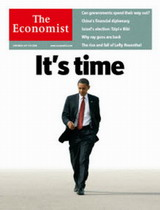 Barrck Obama in The Economist