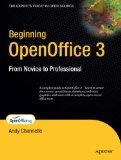 beginning openoffice 3.0 by apress