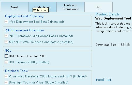 microsoft-web-platform-installer