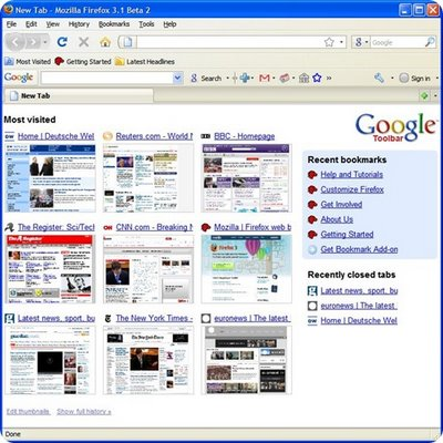 google-chrome-most-visited-history