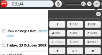 skype dialpad dialog numbers