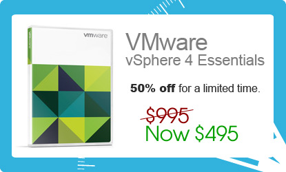 vmware vsphere 4 essentials offer discount