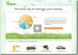 mint manage money