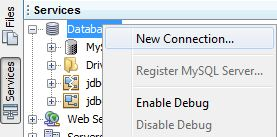 netbeans add new remote connection