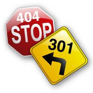 404 301 redirect