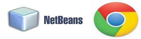 netbeans ide chrome logo