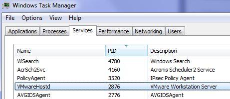 vmware workstation server