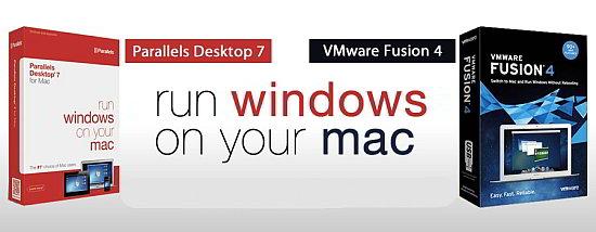 compare parallels desktop 7 for mac vs vmware fusion 4