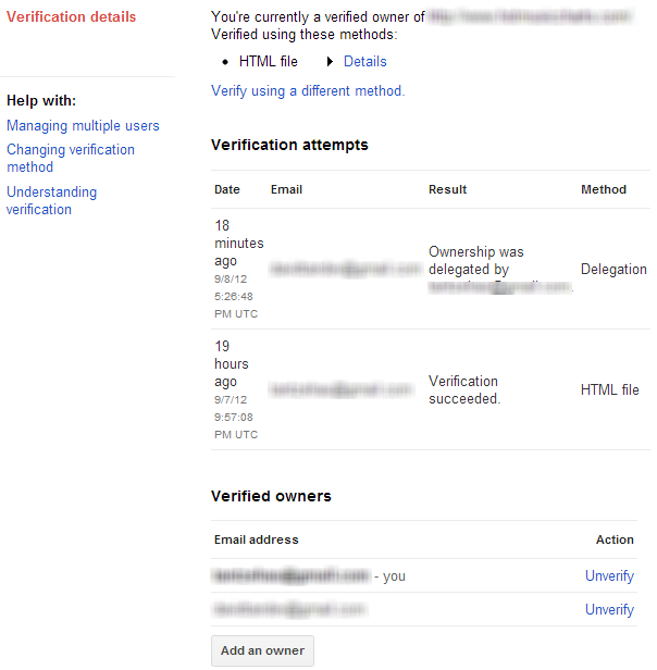 google webmaster users delegate owner 2